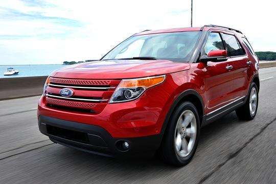 2011 Ford Explorer Revealed at Chicago